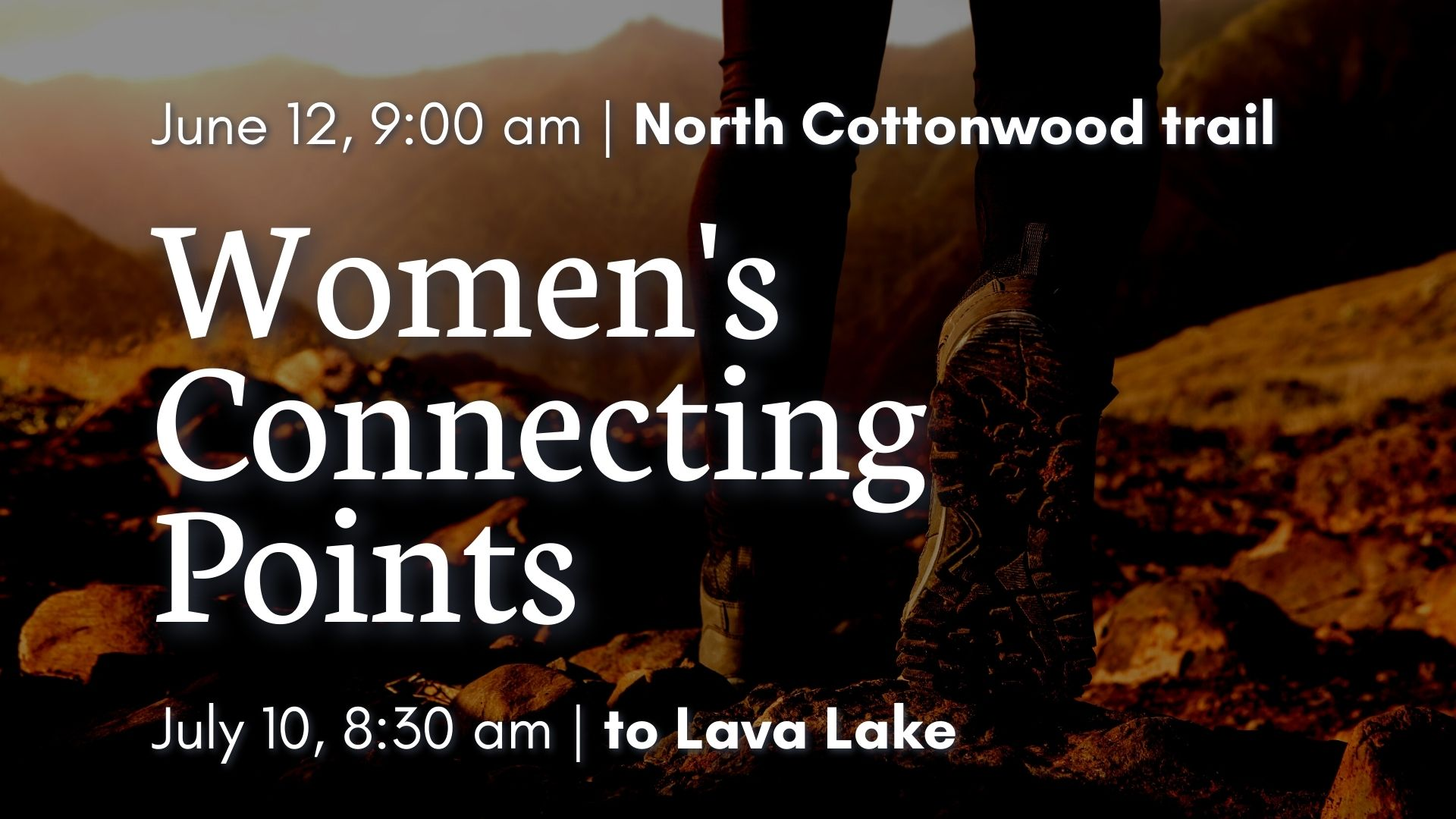 Women's Connecting Point graphic
