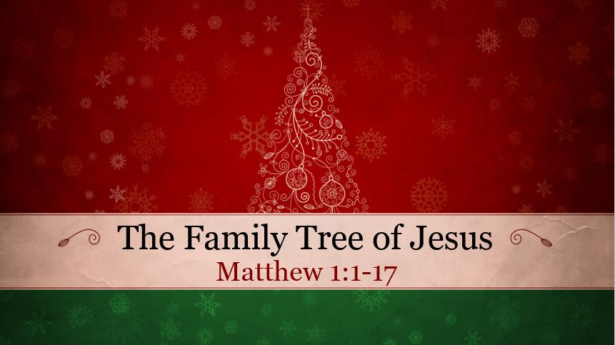 The Family Tree of Jesus