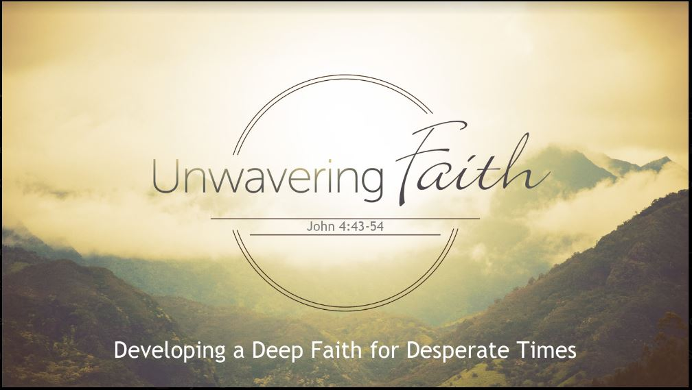 Unwavering Faith