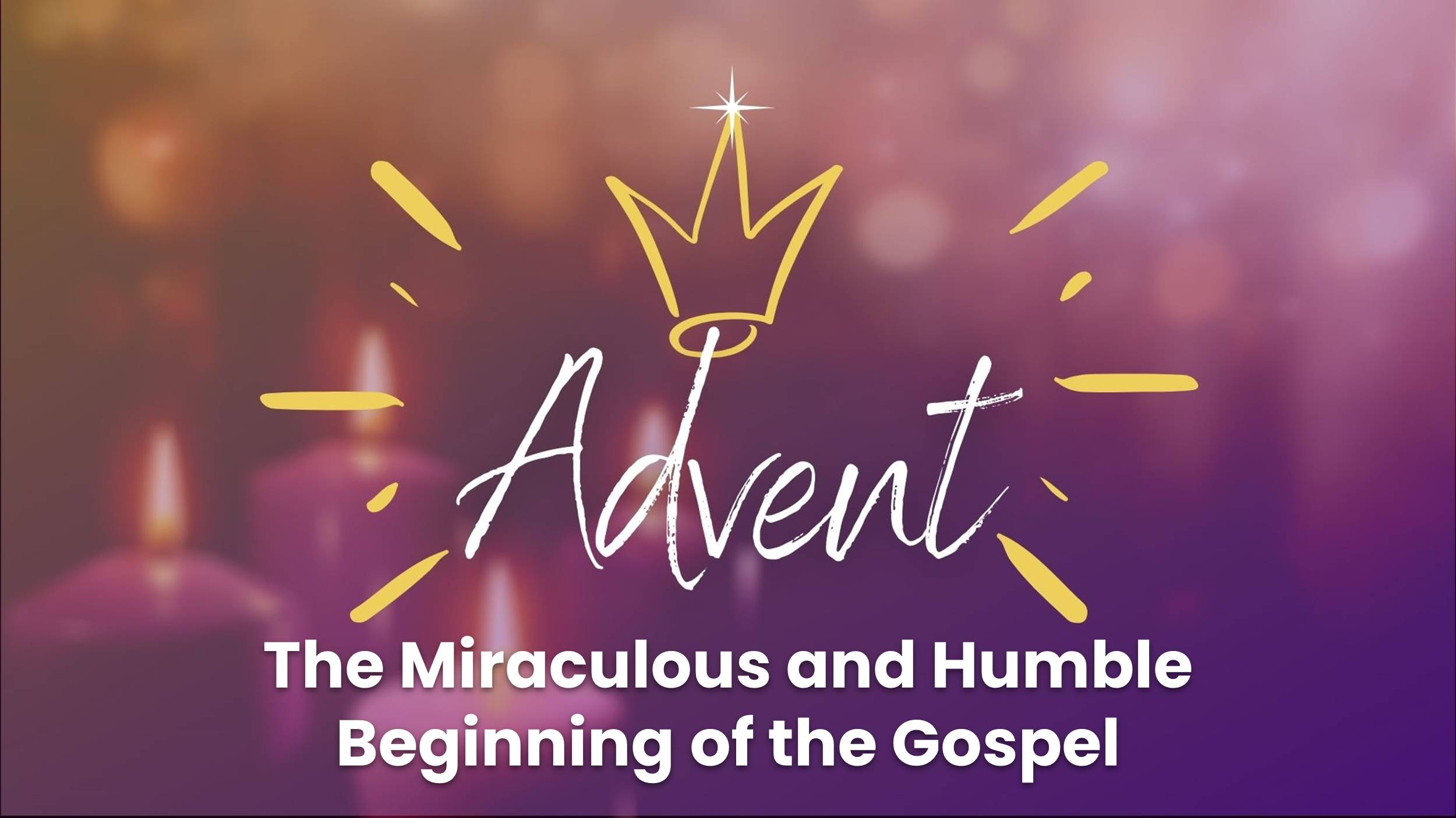 The Miraculous and Humble Beginning of the Gospel